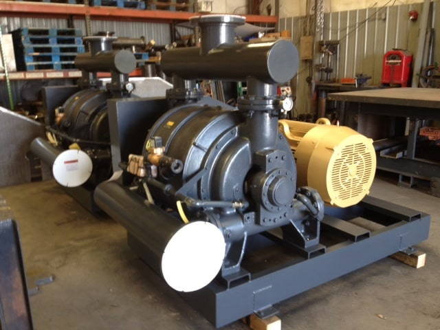 large vacuum pump
