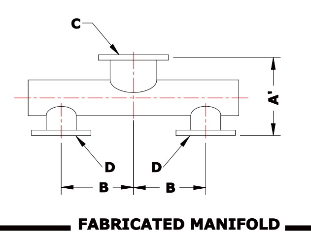 fabricated manifold
