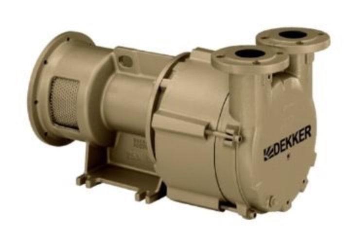 single stage dekker vacuum pump
