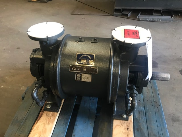 rebuilt vacuum pump