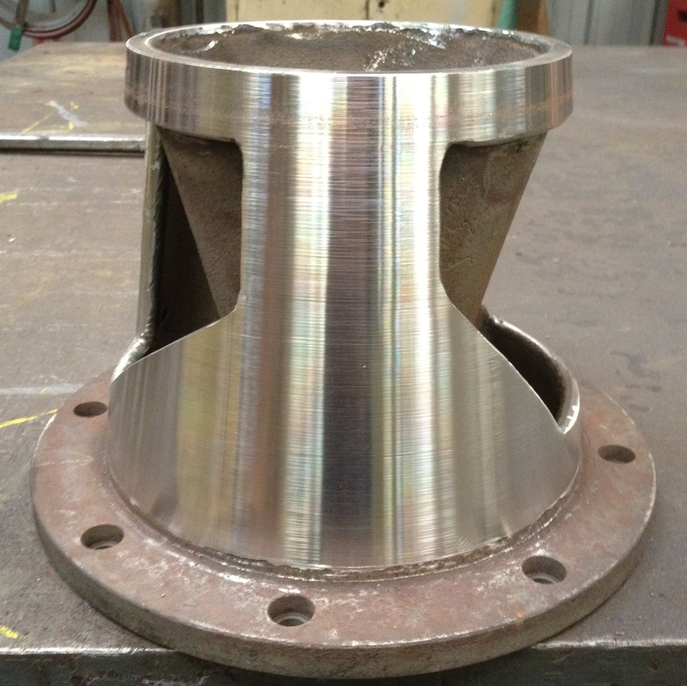 stainless steel cone for vacuum pump